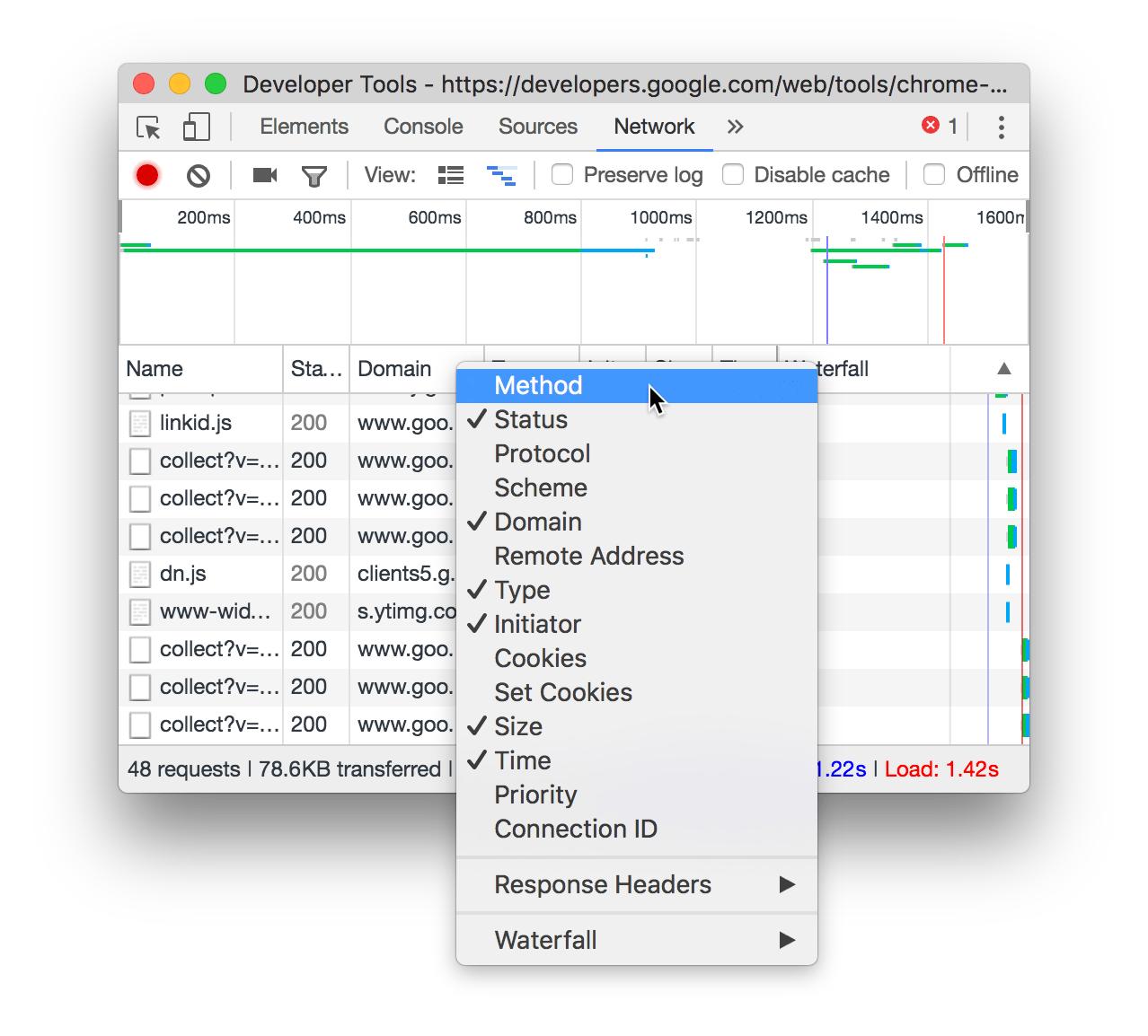 """将列添加到""""请求""""表。"""